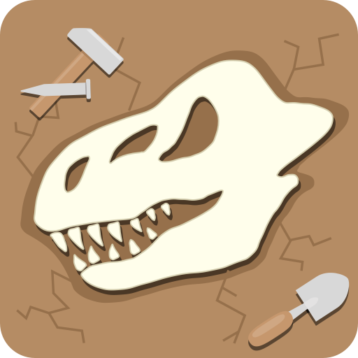 Dino Fossil Dig - Jurassic Adventure For Kids