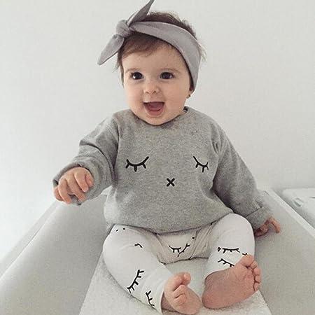 6871544e8 Amlaiworld Infantil Bebé Niño niña Cute pestañas de impresión ...
