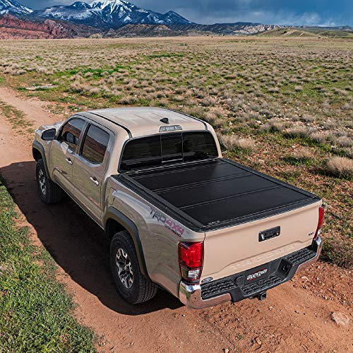 "Undercover Ultra Flex Hard Folding Truck Bed Tonneau Cover | UX12019 | Fits 14-18, 19 Ltd/Legacy Chevrolet Silverado/GMC Sierra 1500-3500HD(Only 1500,2500,3500) 6'6"" Bed"