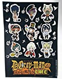 D.gray-man Hallow Sticker Allen Kanda Lavi Lenalee Tyki Halloween Cafe Anime