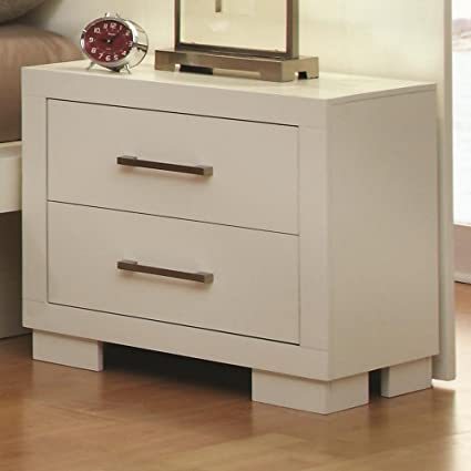 Jessica 2 Drawer Nightstand By Coaster Furniture