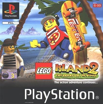 Playstation 1 - LEGO Island 2 - The Bricksters Revenge: Amazon.es ...