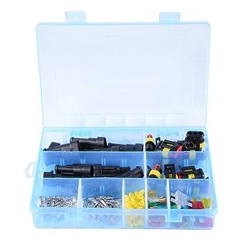 XCSOURCE® 5 Sätze 2-Pin, 5 Sätze 3-Pin Wasserdichte Elektrische ...