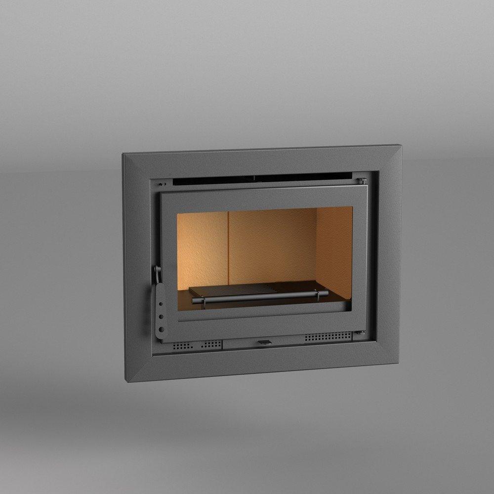 Chimenea Insertable leña 70 cm. Mod. I-170. Interior ...