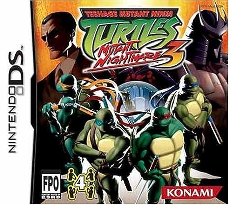 Konami Teenage Mutant Ninja 3 - Juego (Nintendo DS): Amazon ...