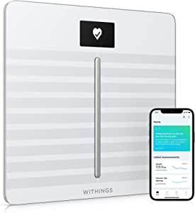Withings / Nokia Body Cardio - Wi-Fi Smart Scale with Body Composition & Heart Rate (WBS04-White-All-Inter White)