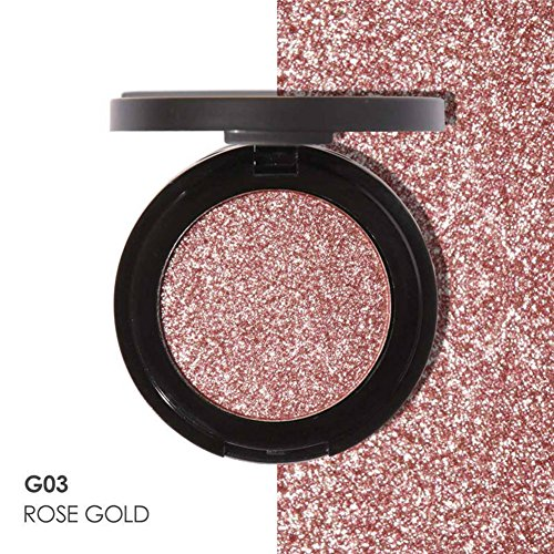 JIEPING Single Color Metallic Matte Eyeshadow Baked Shimmer Eye Shadow Palette Fashion Charming Color G03