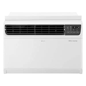 LG LW2217IVSM 22000 BTU Dual Inverter Window Remote Control, White Air Conditioner, 22,000