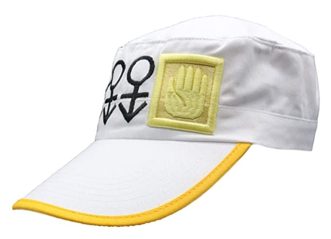 51314286e SSJ JoJo 's Strange Adventure White Hat Jotaro Japanese Anime Baseball Cap