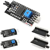 HiLetgo 5V 1602LCD IIC/I2C/TWI/SPIシリアルインターフェイスモジュールポートarduinoに対応 (5個セット) [並行輸入品]