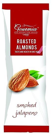 Gourmia Roasted Almonds, Smoked Jalapeno, 40g
