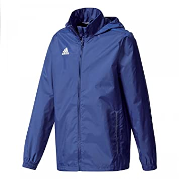 8ff7b56c2ac2 adidas Core 15 Rain Jacket Junior  Amazon.co.uk  Sports   Outdoors