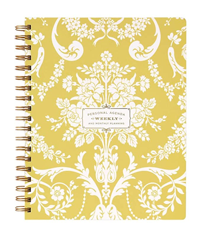 Amazon.com : Amelie Damask Undated Customizable Weekly ...