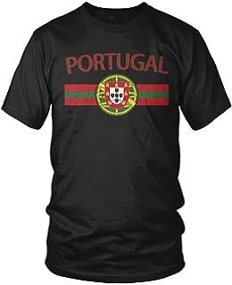 459da96ca89 Amazon.com  Portugal Soccer Retro National Team Football Long Sleeve ...