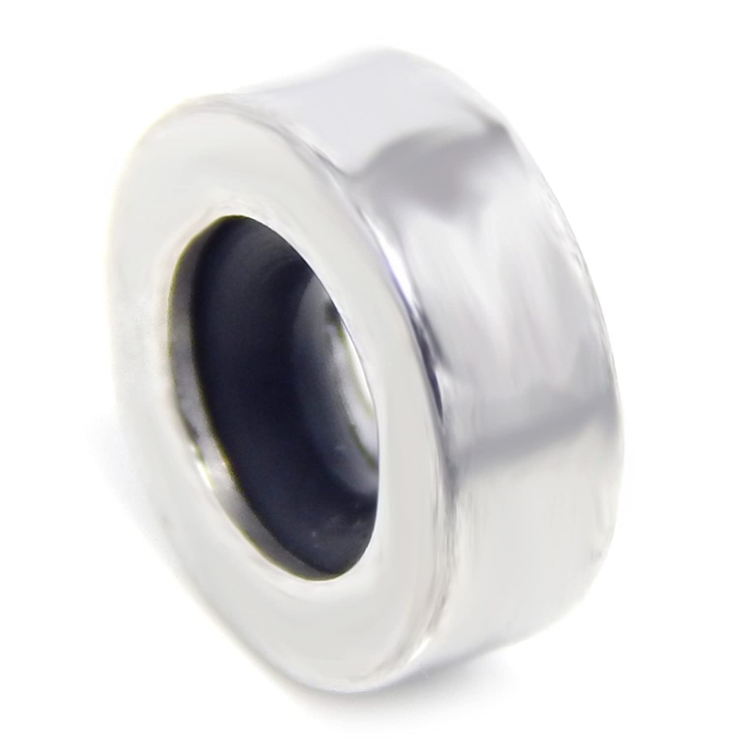 cheap Pro Jewelry Stainless Steel Plain Stoppers Bead for Bracelets get discount