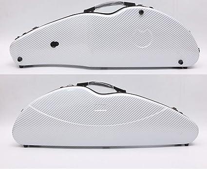 Yinfente 4/4 - Estuche para violín de fibra de carbono mixta para violín con cerradura de contraseña, 1,9 kg de peso, 5 colores: Amazon.es: Instrumentos musicales