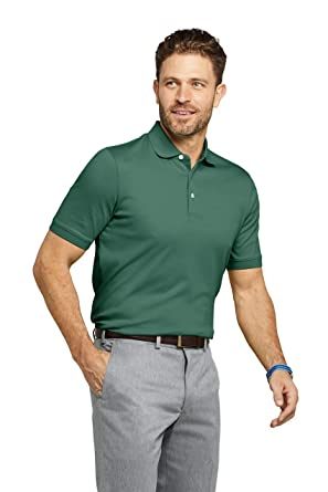 647b64c0237 Lands  End Men s Supima Polo Shirt at Amazon Men s Clothing store