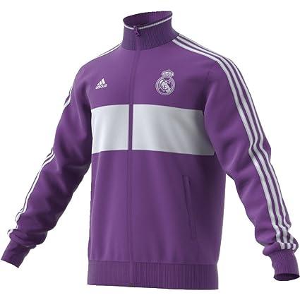 adidas 3s TRK Top Sudadera Real Madrid FC, Hombre