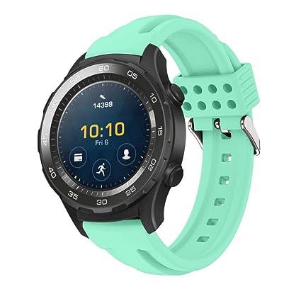 Huawei Watch 2 Correa, Malloom Deportes pulsera de silicona ...