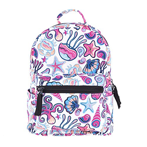 Jellyfish Mini - Cute 10 inch mini pack bag backpack for kids baby grils children and adult (Jellyfish)