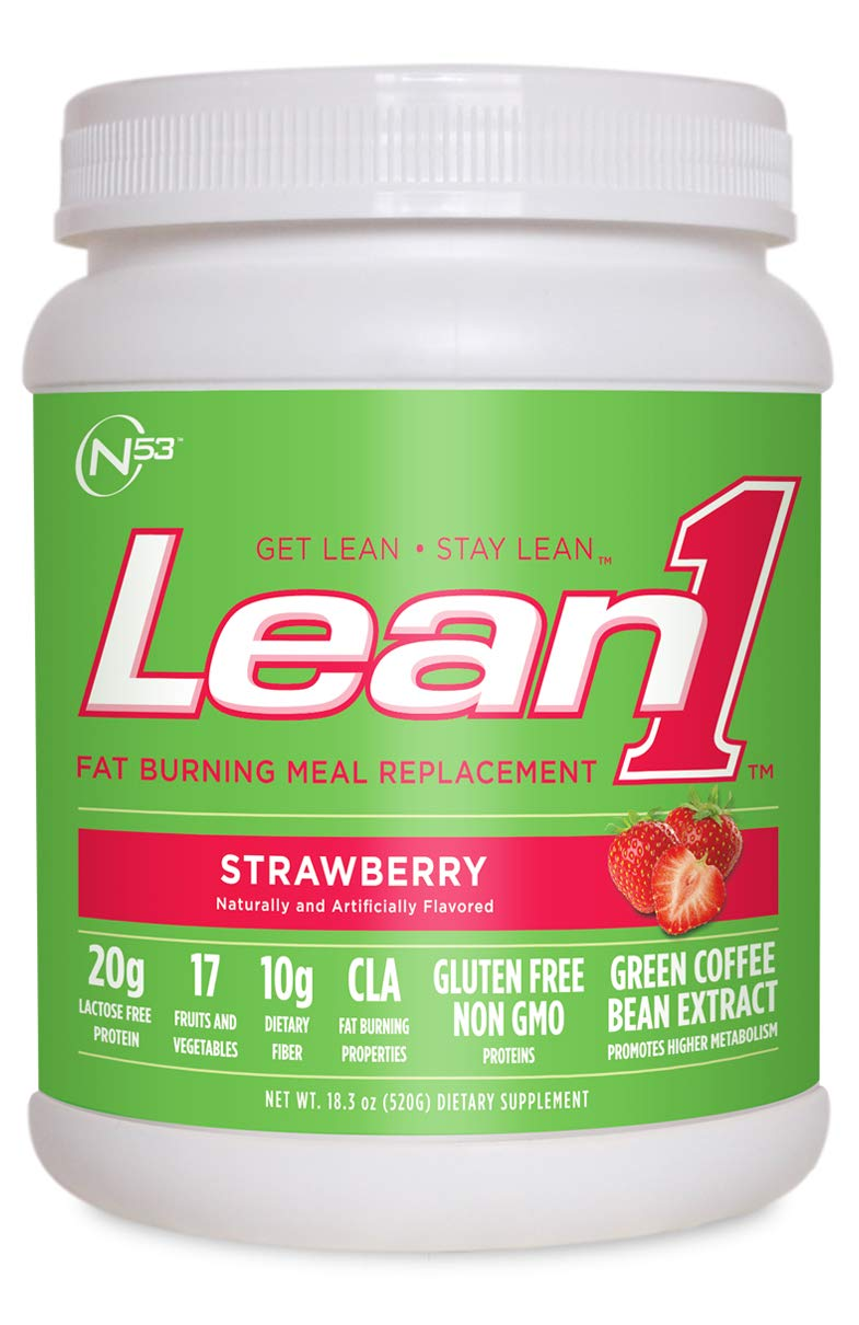 LEAN 1 STRAWBERRY 10 Servings, 1.13 lbs.