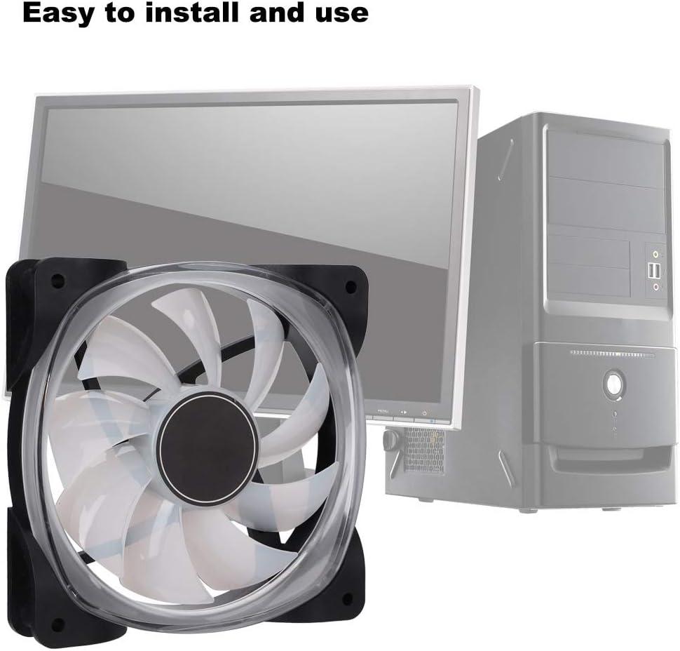 Ventilador de refrigeración de carcasa LED para PC, Ventilador de ...