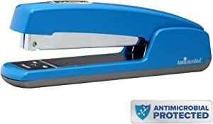Bostitch Professional Antimicrobial Metal Executive Stapler, Blue (B5000-BLUE)