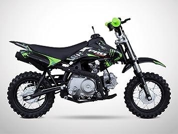 2019 meilleures ventes produits chauds sur les images de pieds de Moto Dirt Bike Enfant 50 - Pit Bike PROBIKE 50 - Vert - 2019 ...