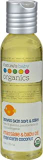 product image for NATURE'S BABY ORGANICS BABY OIL,OG2,MANDRN/COCNT, 4 FZ