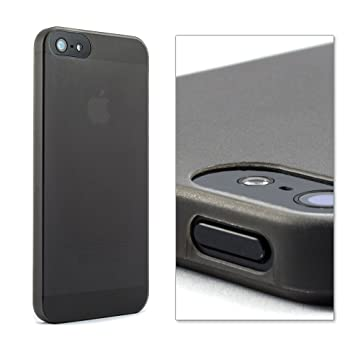 proporta funda carcasa iPhone 5S / iPhone 5 - Segunda Piel de color pizarra - Funda iPhone 5 ultra ligera con garantía de por vida