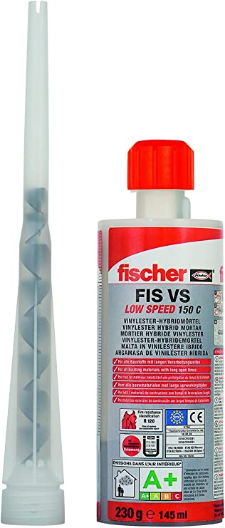 Fischer Kit sellado químico 150 ml, 26376: Amazon.es: Bricolaje y herramientas