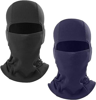 Flames 2 Pack Face Balaclava Scarf Neck Shield Headwear Mask Multi Color