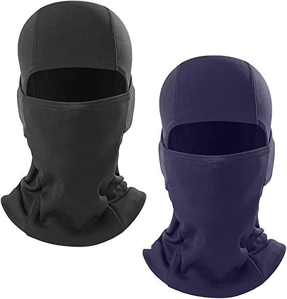 Reflective Face Mask Balaclava Bandana Headband Biker Ski Hood Neck Sun Shield