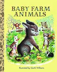 Baby Farm Animals (Little Golden Treasures)