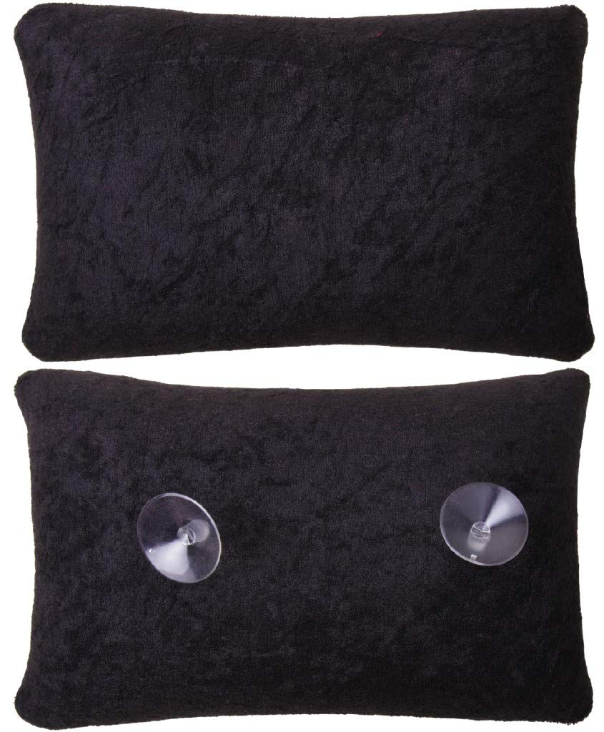 Vasca da bagno Cuscino cervicale cuscino cuscino anatomico con ventosa bianco Bestlivings