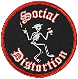Application Social Distortion Skelly Patch