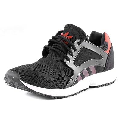 Adidas Originals Racer Lite Em Running Trainers - Black Red-UK12 ... aca3658a6