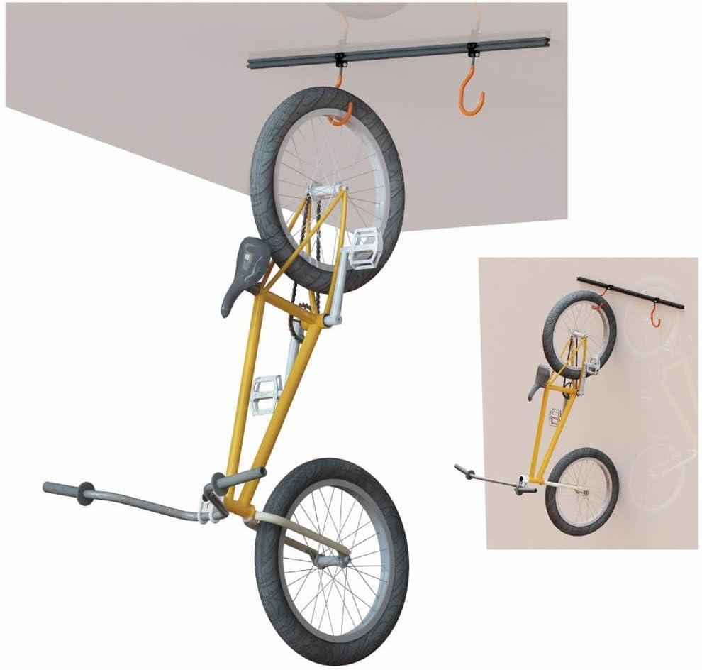 SUPER B - 35321 : Soporte de bicicleta al techo/pared Super B TB ...