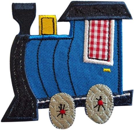 2 Parche de bordado o planchado Tren 8X7Cm Bellota 7X8Cm termoadhesivos bordados aplique para ropa con diseño de TrickyBoo Zurich Suiza por España: Amazon.es: Bebé