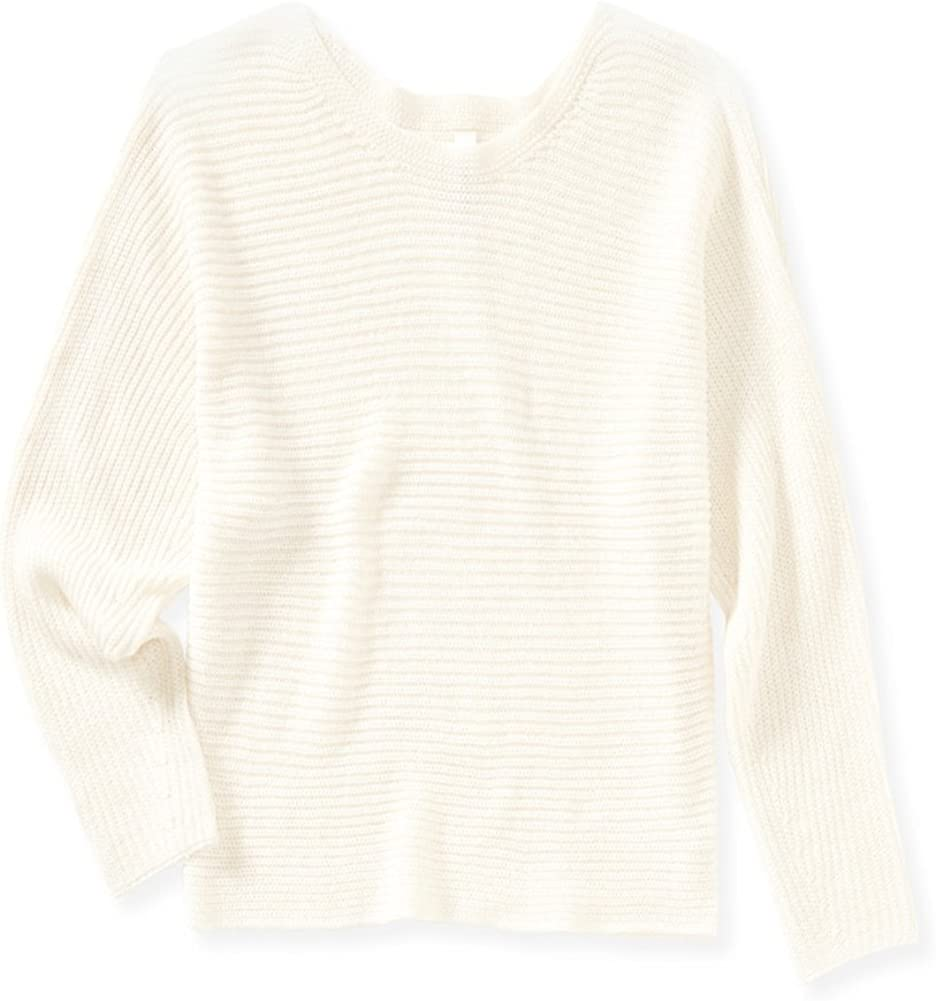 Aeropostale Womens Cropped A Pullover Sweater
