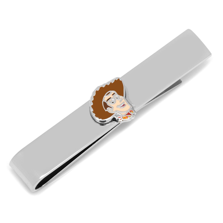 Gemelos Metal bañado en plata para hombre corbata Clips Disney Toy ...