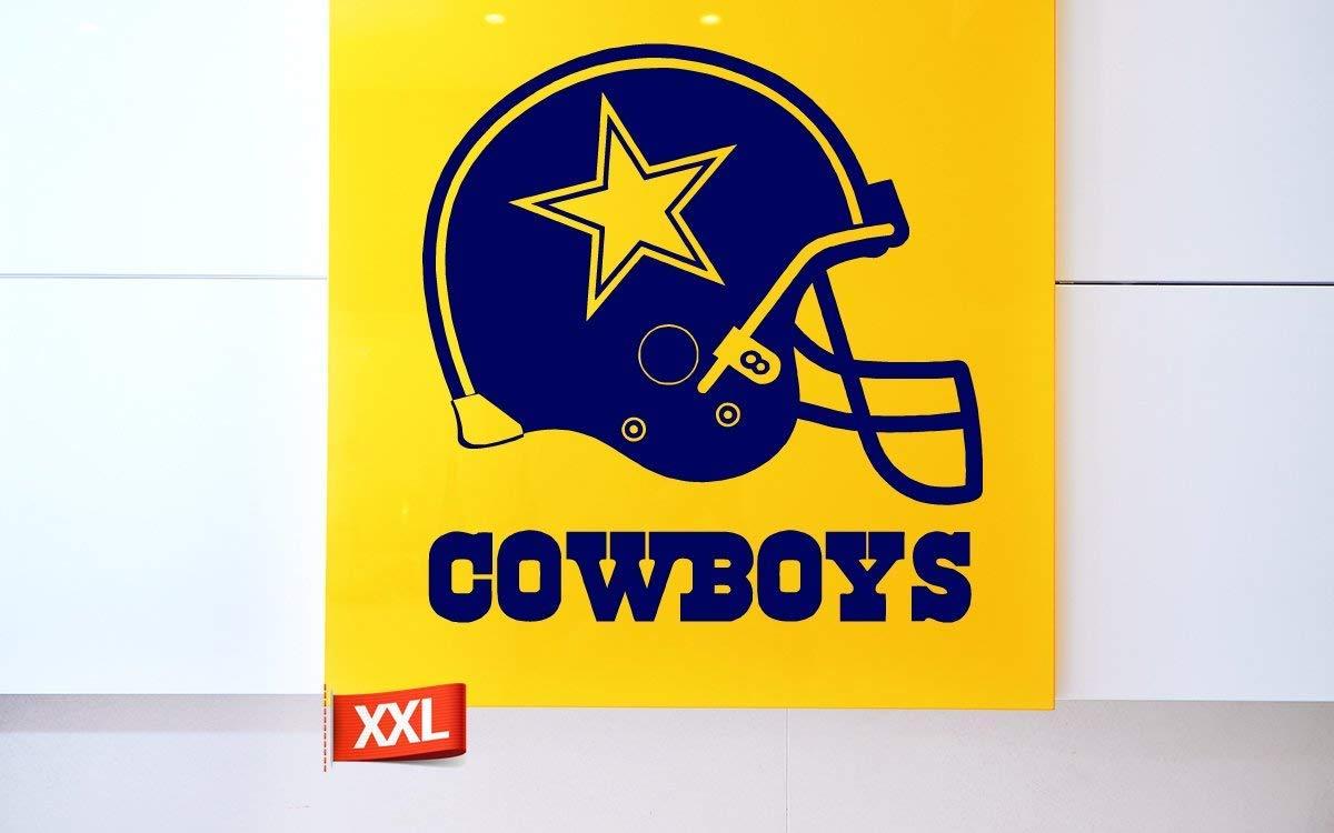 PillowFigtArt Dallas Cowboys Decal, Dallas Cowboys Sticker, Dallas Cowboys Wall Decal,Dallas Cowboys Logo Decal, NFL Logo Decal, Dallas Cowboys, Dallas Cowboys Large Decal pf25 (46'' x 46'') by PillowFigtArt