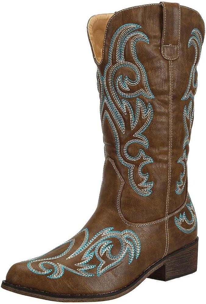 SheSole Women's Western Cowgirl Cowboy