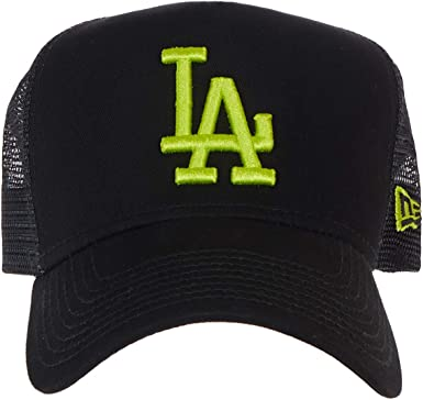 A NEW ERA Era League Essential Trucker Losdod Gorra, Hombre, Black ...