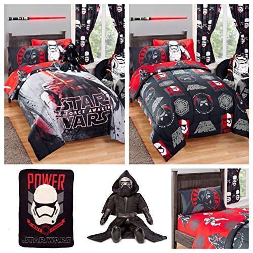 Star Wars Kids Bed in a Bag Bedding Set w/ Reversible