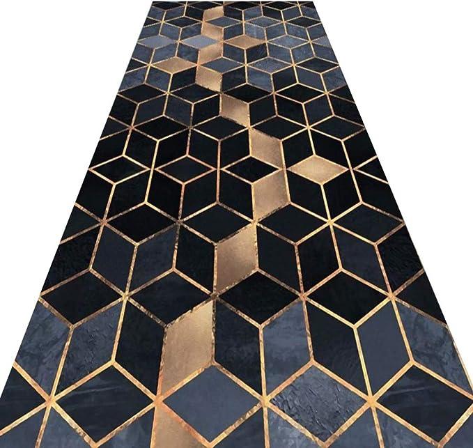 YANZHEN-tapis de Couloir Passage Entr/ée Extra Longue Tapis Antid/érapant Antistatique R/ésiste /À Lhumidit/é Fibres M/élang/ées 0,6 M 1 M 1,4 M 0,8 M 1,2 M Color : A, Size : 0.6 x 1m