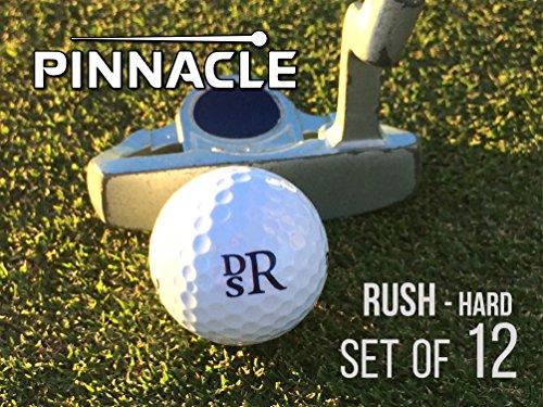 (Pinnacle Personalized Golf Balls Rush Hard Monogrammed Golf Balls- Diamond Monogram Set of 12)