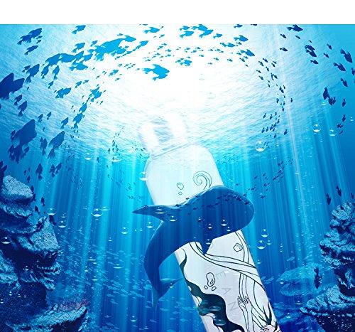 Sunkee Vocaloid Hatsune Miku Deep Sea Mädchen Ver. Bottle Sport Juice Glas Wasser Cup b2 (Hatsune Miku  Tasse)