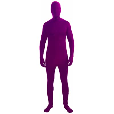 Forum Novelties I'm Invisible Costume Stretch Body Suit, Burgundy, Child Medium: Toys & Games