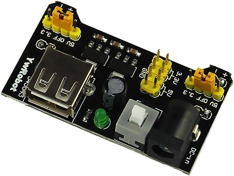 2x MB102 Breadboard Power Supply Module 3.3V 5V Solderless For Arduino